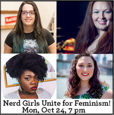 Nerd Girls Unite – My Feminist Panel in Brooklyn!